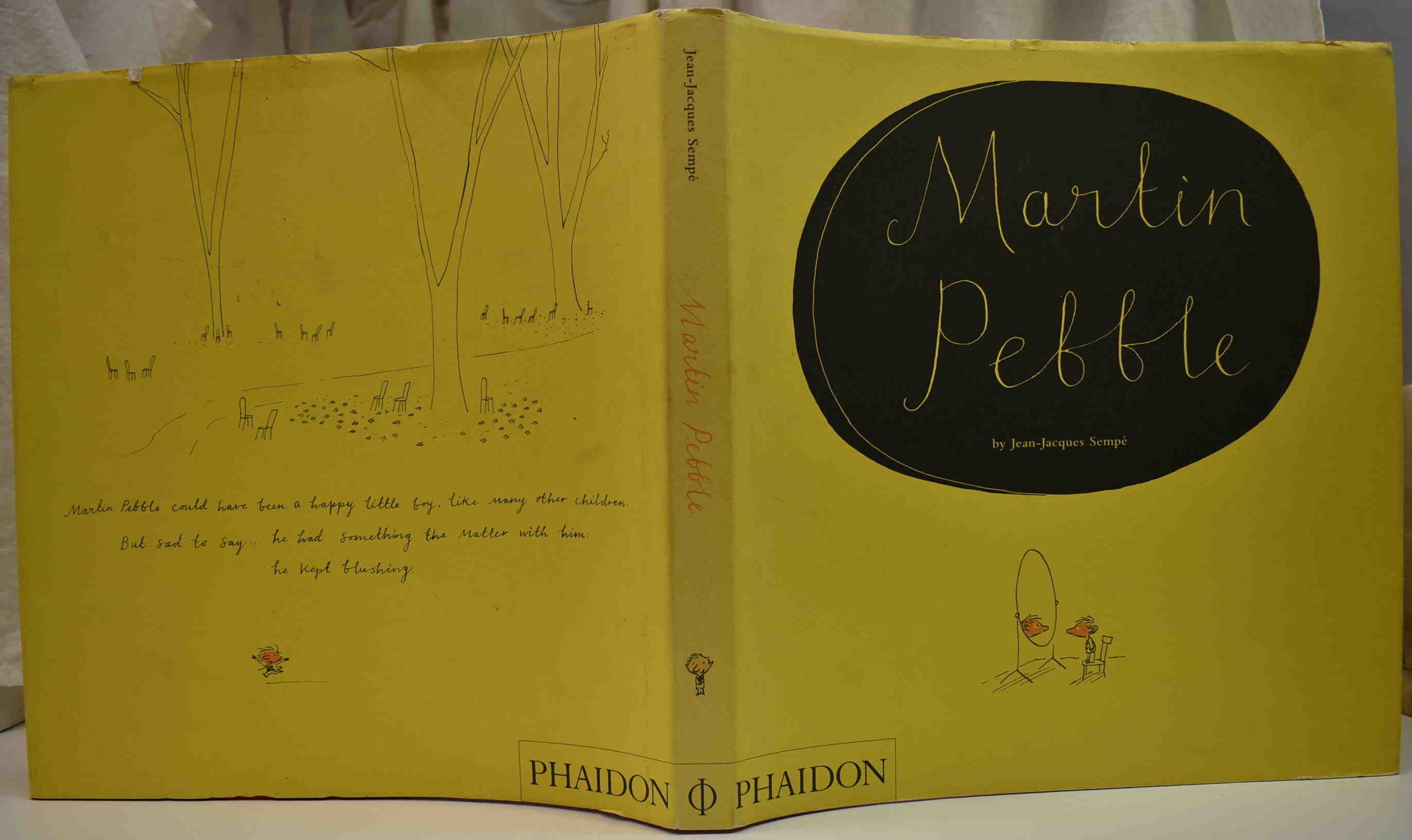 Details about 2006 JEAN-JACQUES SEMPE MARTIN PEBBLE French Classic Story VG  HCDJ